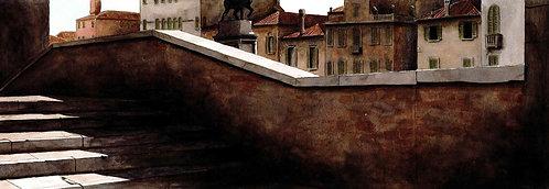 (stampa di) Venezia, ponte