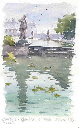 Matteo Bertomoro - Villa Pisani sketch