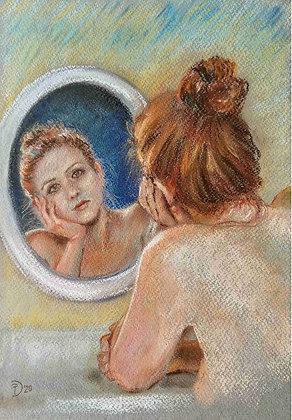 Daniela Protopapa -Donna allo specchio