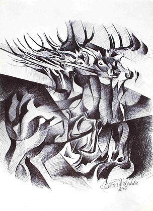 Antonio Milleddu - Il cervo