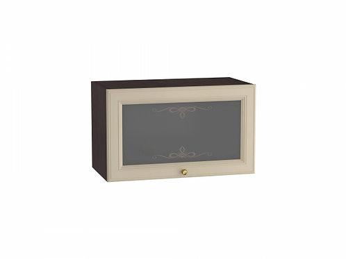 Шкаф верхний горизонтальный остекленный Версаль 600