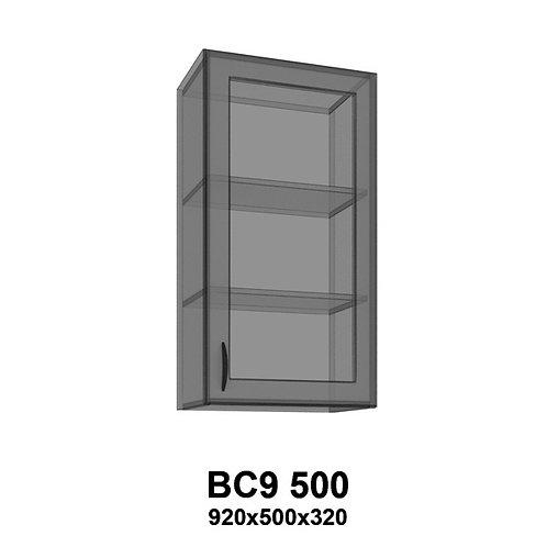 Модуль навесной со стеклом BС9 500