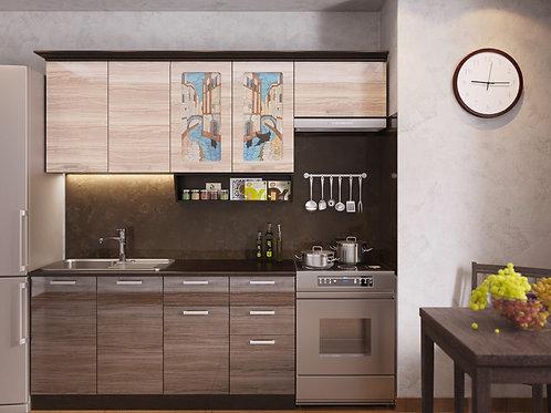 Кухня Венеция 3 верх:2200x986х330 низ:1600x860x600