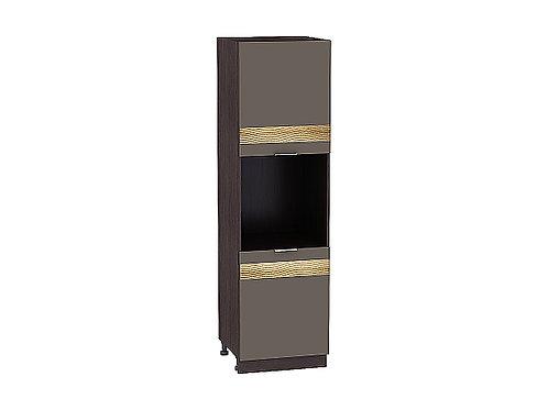 Шкаф пенал под бытовую технику с 2-мя дверцами Терра 600Н W/DR/DL (920)