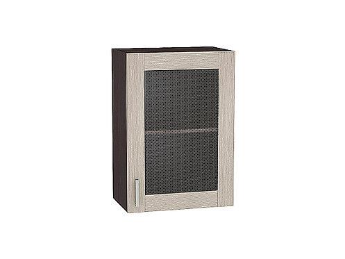Шкаф верхний с 1-ой остекленной дверцей Лофт 500