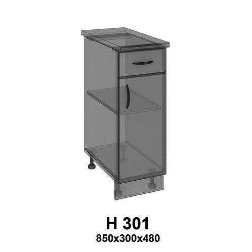 Модуль  ящиком Н301
