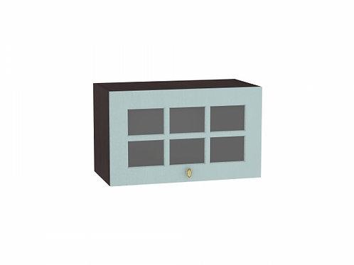 Шкаф верхний горизонтальный остекленный Прованс 600