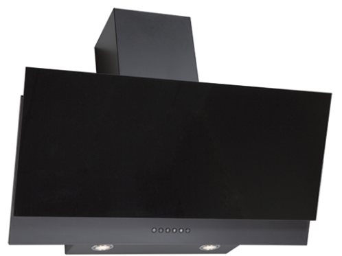 Рубин S4 90 антрацит / стекло черное