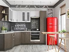 "Кухня "" Лофт-04"". Цена 26 218 руб. www.mebelkg.com"