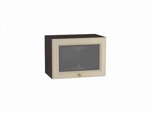 Шкаф верхний горизонтальный остекленный Версаль 500