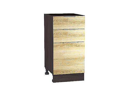 Шкаф нижний с 3-мя ящиками Терра W 400