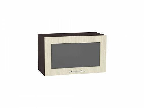 Шкаф верхний горизонтальный остекленный Валерия-М 600