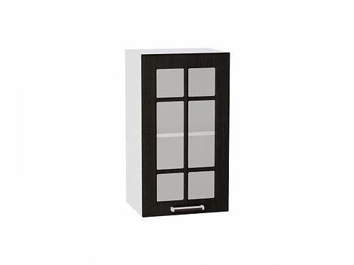 Шкаф верхний с 1-ой дверцей стекло 400 Прага