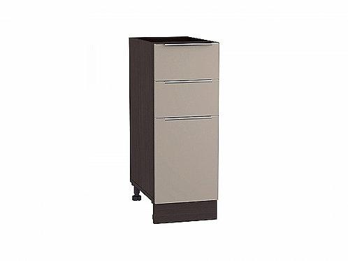 Шкаф нижний с 3-мя ящиками Фьюжн 300