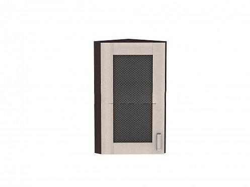 Шкаф верхний торцевой остекленный Лофт (920)