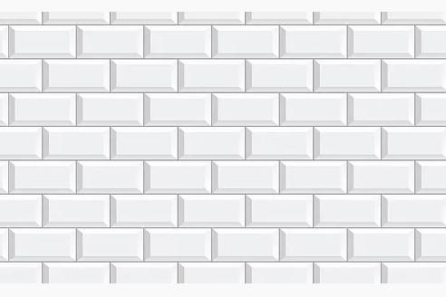 Белая классическая плитка