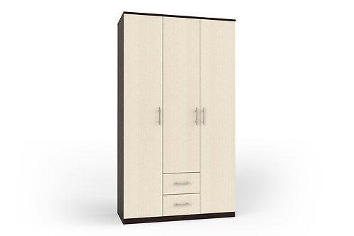 """Шкаф для одежды 3-х дверый """"Румба"""" 1200*520*2116"""