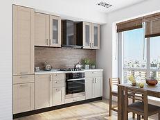 "Кухня "" Лофт-02"". Цена 18 386 руб. www.mebelkg.com"