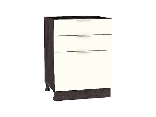 Шкаф нижний с 3-мя ящиками Терра  600