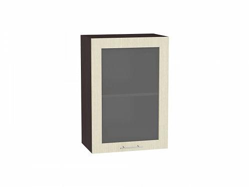 Шкаф верхний с 1-ой остекленной дверцей Валерия-М 500 (920)