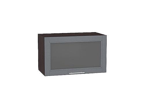 Шкаф верхний горизонтальный остекленный Сканди 600