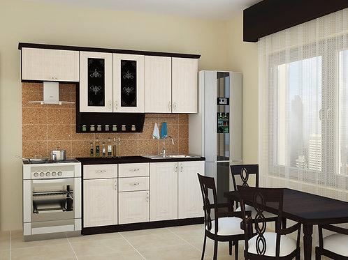 Кухня Беларусь 3 верх:2200x986х330 низ:1600x860x600