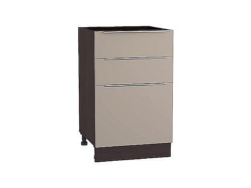 Шкаф нижний с 3-мя ящиками Фьюжн 500