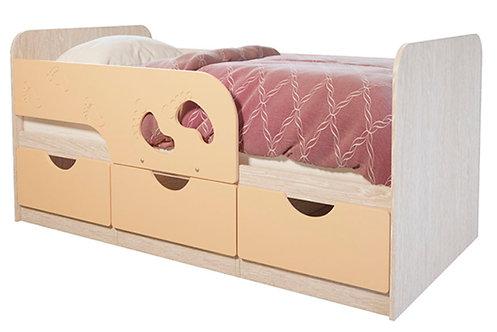 Детская кровать Минима Лего 80*160 Крем-брюле