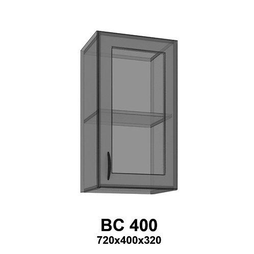 Модуль навесной со стеклом BС400