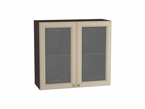 Шкаф верхний с 2-мя остекленными дверцами Версаль 800