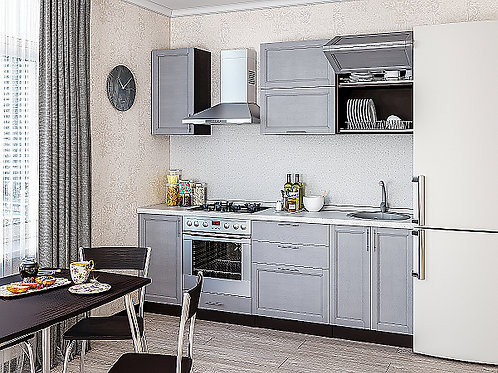 Сканди-01 Grey Softwood 2200*600*2140