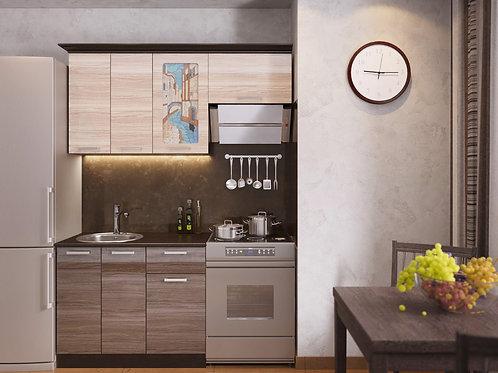 Кухня Венеция 1 верх:1600x986x330 низ:1000x860x600
