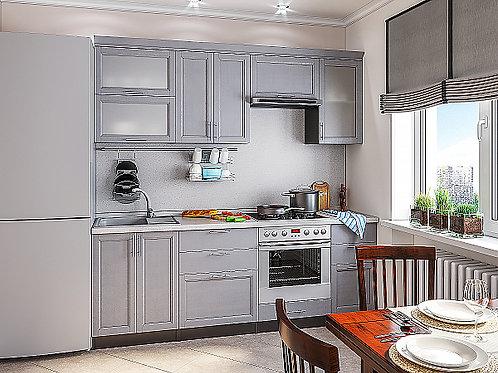Сканди-02 Grey Softwood 2200*600*2140