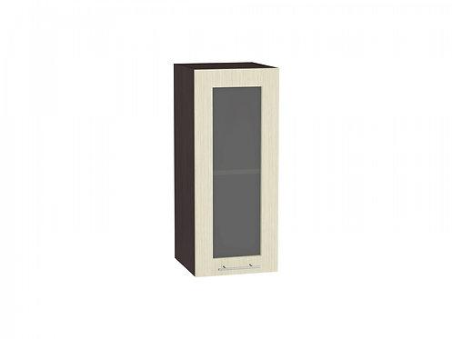 Шкаф верхний с 1-ой остекленной дверцей Валерия-М 300 (920)