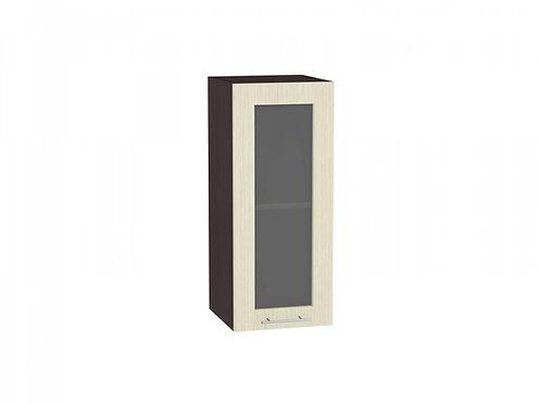 Шкаф верхний с 1-ой остекленной дверцей Валерия-М 300