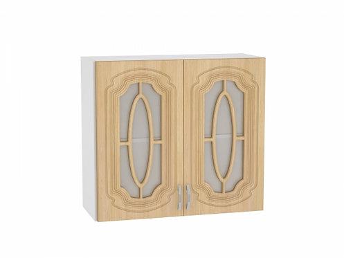 Шкаф верхний с 2-мя остекленными дверцами 800 Настя