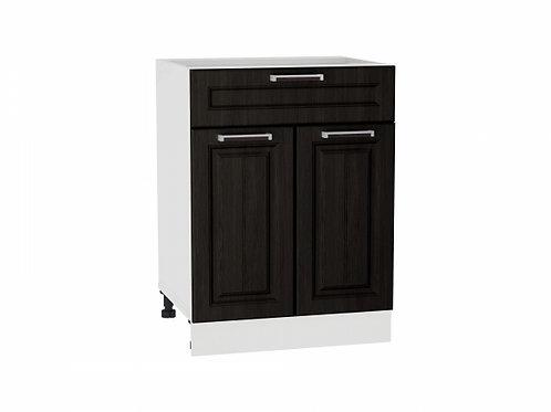 Шкаф нижний с 2-мя дверцами и ящиком 600 Прага
