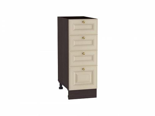 Шкаф нижний с 4-мя ящиками Версаль 300