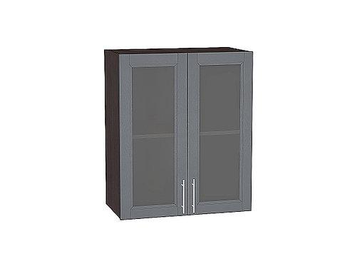 Шкаф верхний с 2-мя остекленными дверцами Сканди 600 920