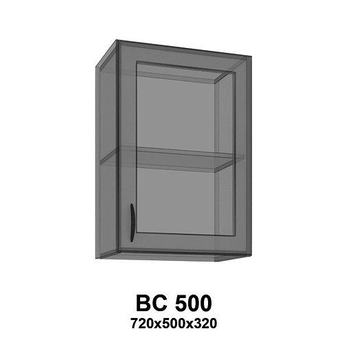 Модуль навесной со стеклом BС500