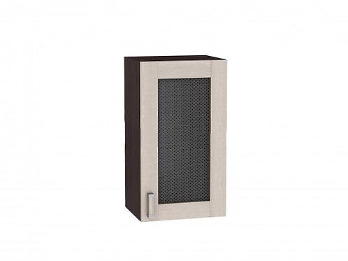 Шкаф верхний с 1-ой остекленной дверцей Лофт 400 (920)