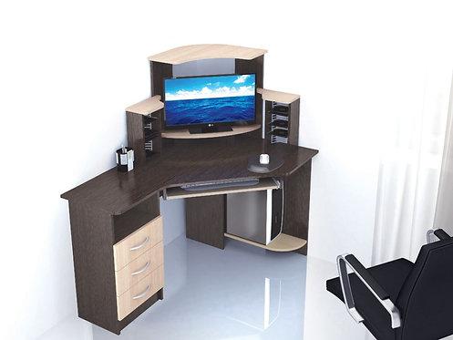 Компьютерный стол Грета-7 1300*900*1335