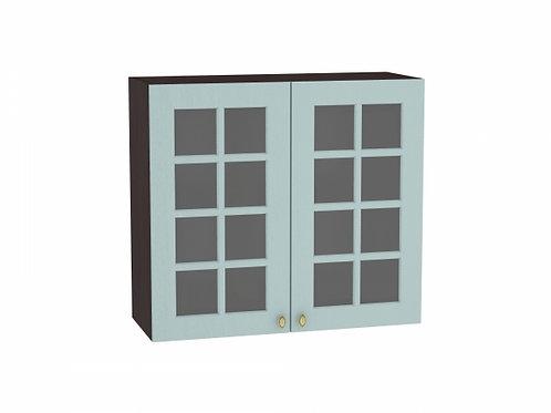 Шкаф верхний с 2-мя остекленными дверцами Прованс 800