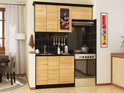 Кухня Сакура 1 верх:1600x986x330 низ:1000x860x600