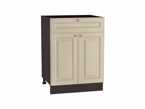 Шкаф нижний с 2-мя дверцами и ящиком Версаль 600