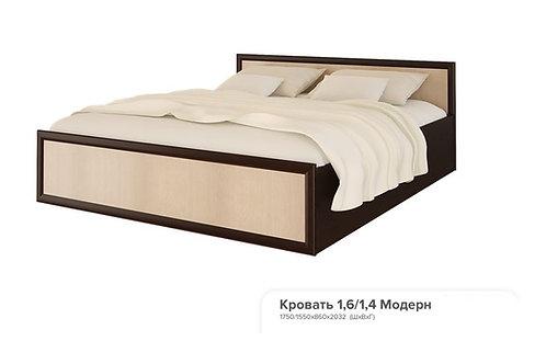 Кровать 1,6 «Модерн»  1750 x 860 x 2032