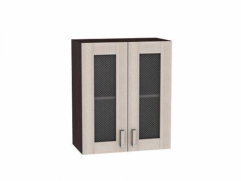 Шкаф верхний с 2-мя остекленными дверцами Лофт 600 (920)