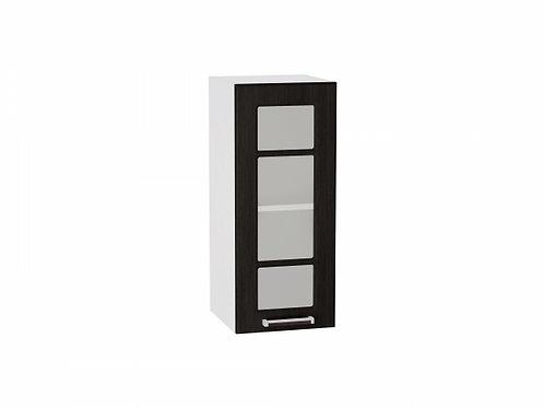 Шкаф верхний с 1-ой дверцей стекло 300 Прага