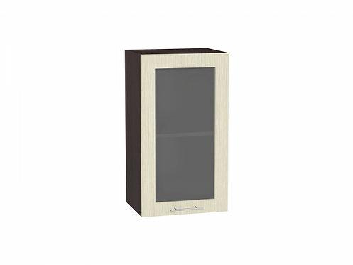 Шкаф верхний с 1-ой остекленной дверцей Валерия-М 400 (920)