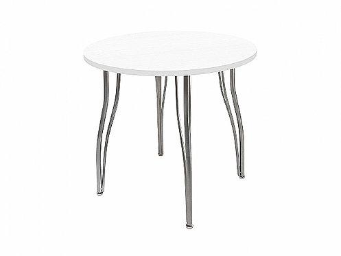 Стол обеденный круглый LС (ОС-12) Белое дерево 830*745/765h